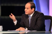Egypt President Sisi says in talks with Palestinians, Israel