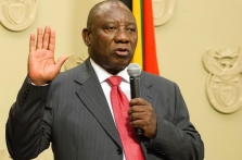 South Africa's Ramaphosa says committed to speedy economic reforms